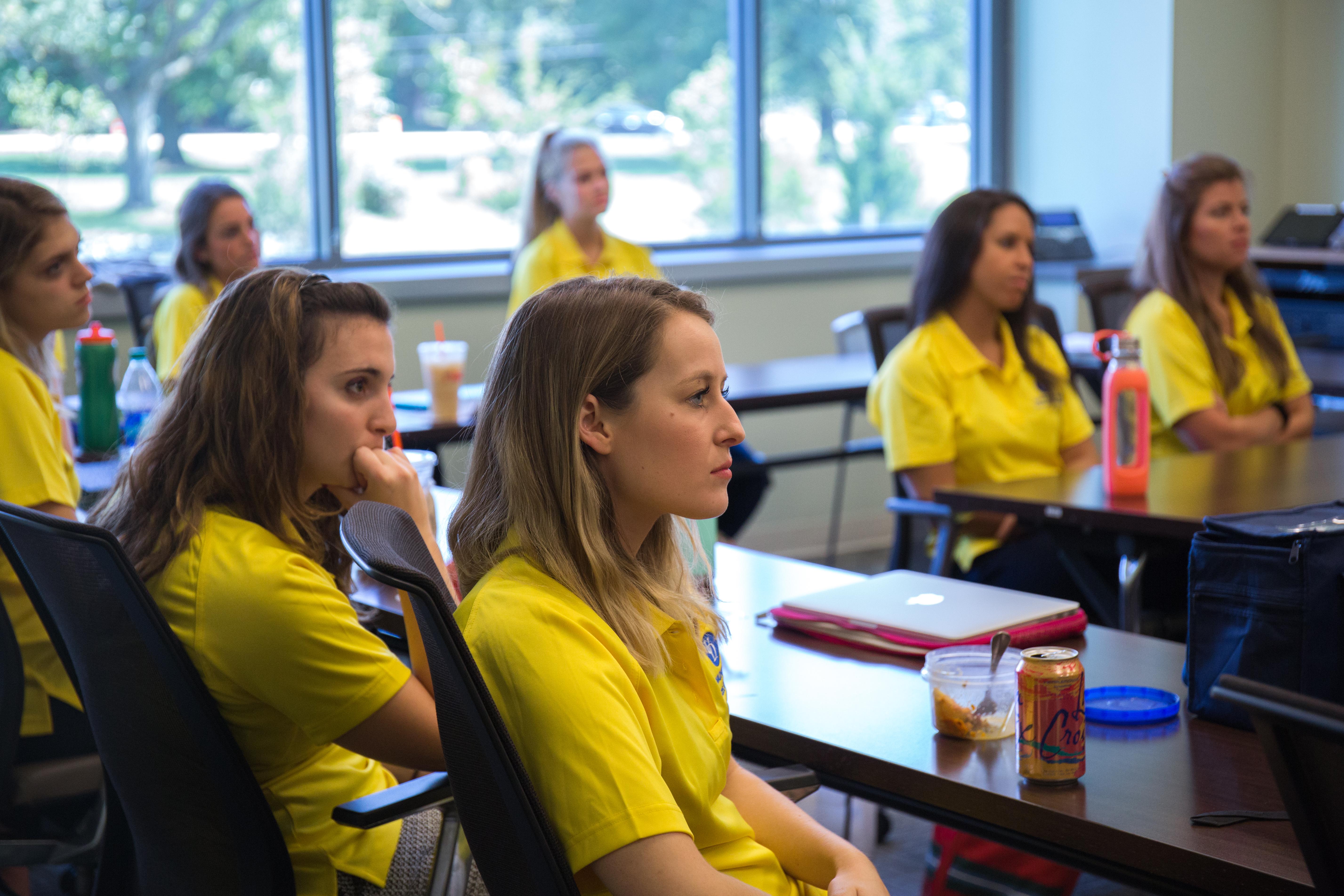 Students listening to Valerie Longhurst Speak-1uk6oco