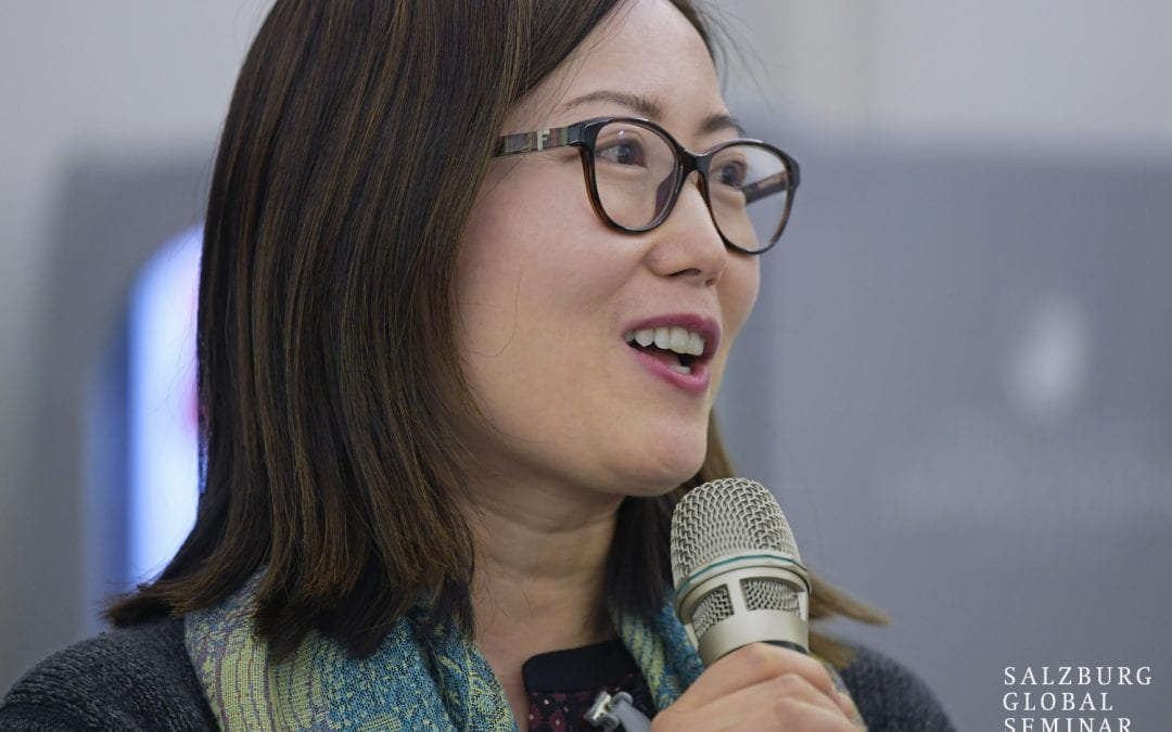 Li Sheng becomes a Salzburg Fellow