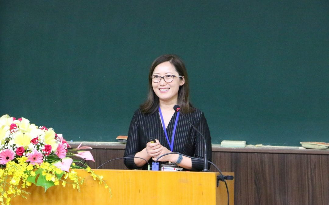 Dr. Sheng presents at 17th Int'l Conference on the Processing of East Asian Languages