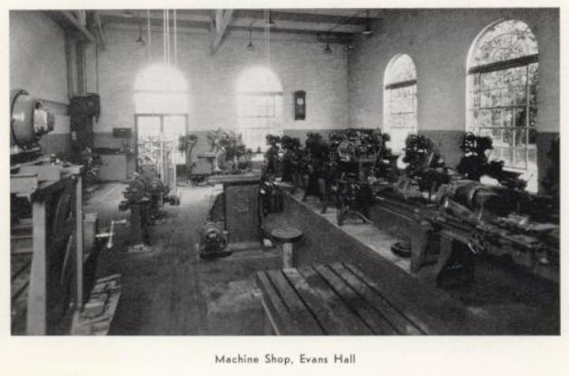 1933 shop in evans