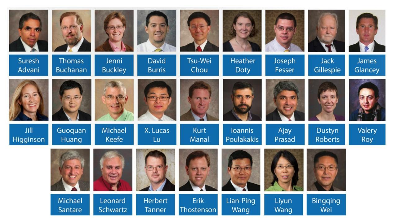 2015 professors