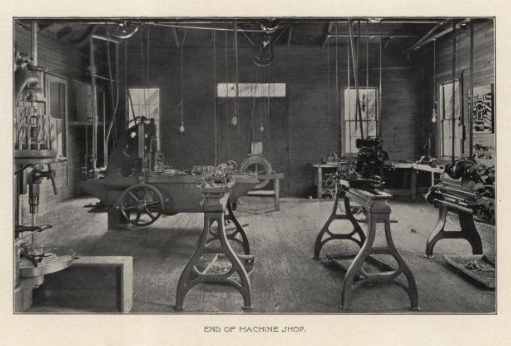 machine shop 1899