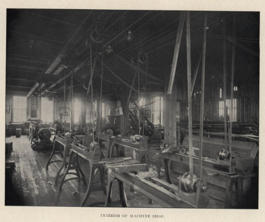 machine shop 1904