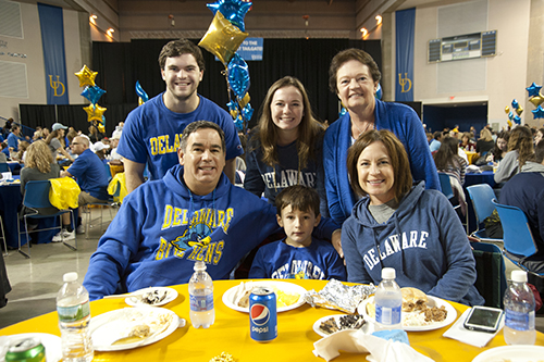 University of Delaware Parents and Family Weekend with Division of Student Life