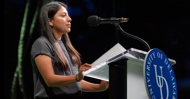 2019 Twilight Induction Student Speaker, Saray Lopez