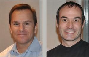 Tom Powers, left, and Mark Greene