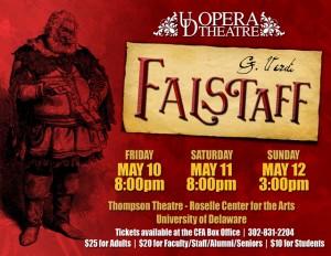 UD Opera Theatre: Verdi's Falstaff