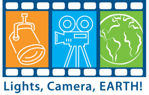 Lights, Camera, Earth Film Festival logo