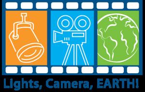 Lights, Camera, Earth Film Festival logo