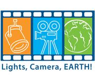Lights, Camera, Earth! logo