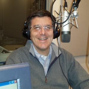 Adam Rome in the WVUD studio