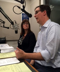 Michele Juarez-Huffaker and Brad Wolgast, UD Center for Counseling and Student Development