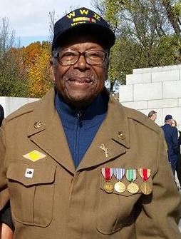 Jim Baldwin, WWII Vet