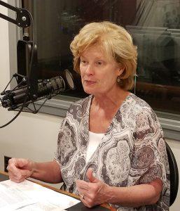 Provost Robin Morgan at WVUD.