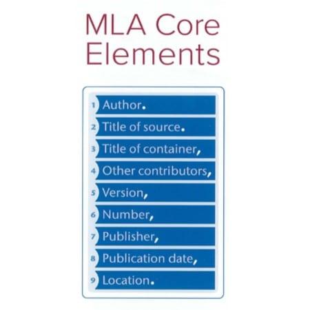 MLA Core Elements