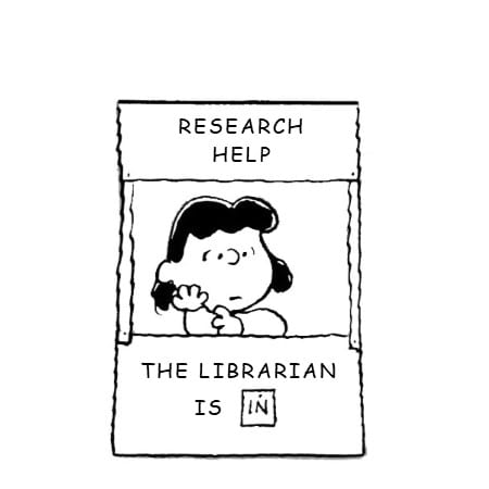 Research help: the librarian is in