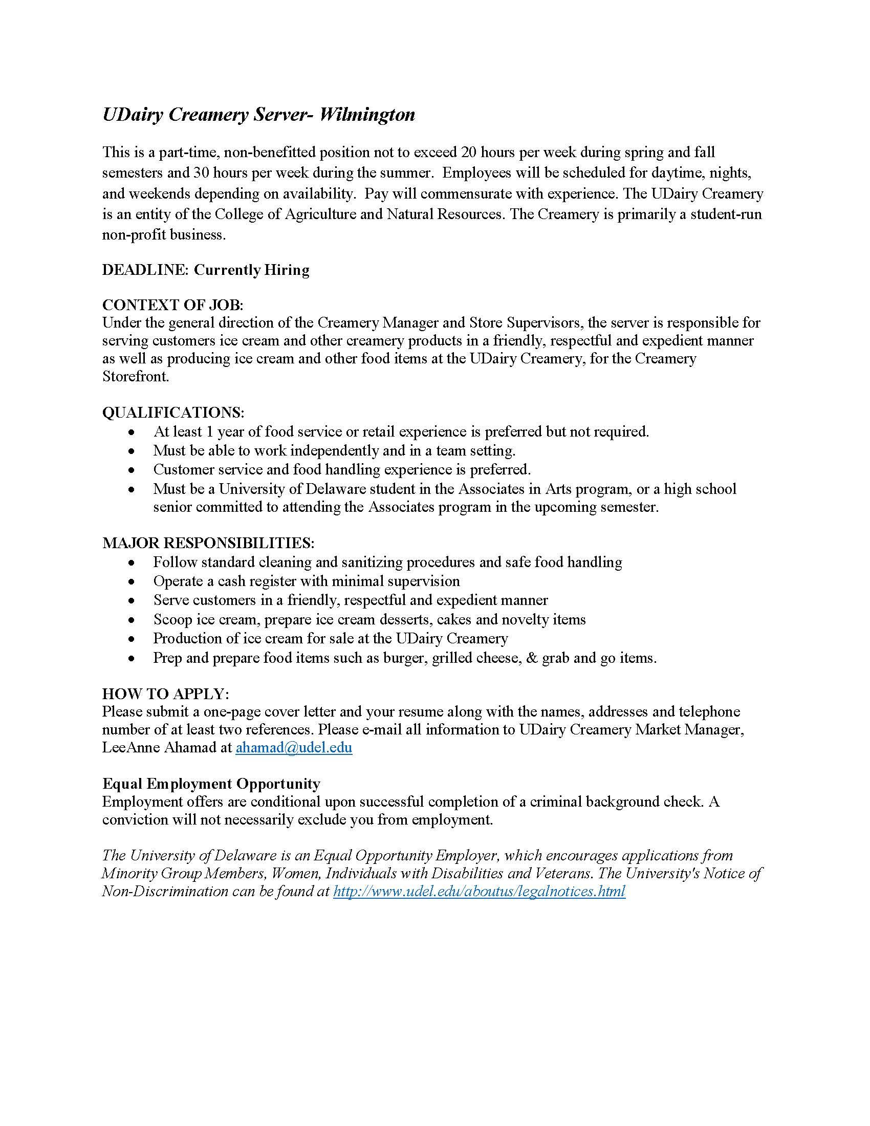 WordPress For UD   University Of Delaware  Preferred Resume Group