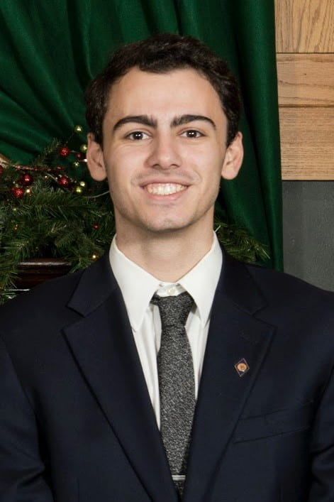 Desiderio Pilla Master of Science in Data Science student collects awards