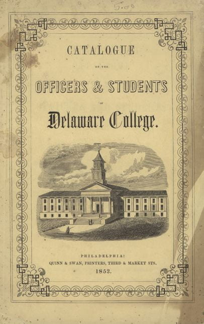 Catalogue of the Officers & Students - 1853