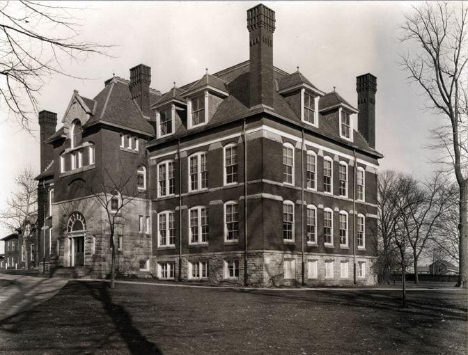 Recitation Hall - Circa 1900
