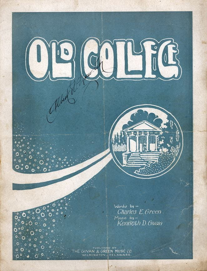 Cover of Old College.