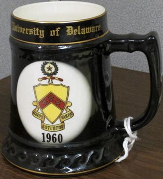 1960 Phi Kappa Tau Mug – University of Delaware Chapter