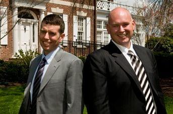 Alumni David Plouffe and Steven Schmidt