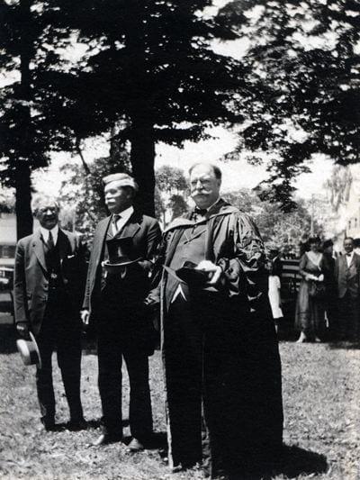 William Taft in academic regalia.