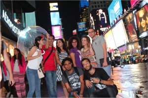 In Times Square with the UD MEPIs