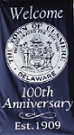 Banner celebrating 100th Anniversary of the Town of Elsmere