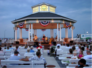 Photo of the Rehoboth Beach Bandstand
