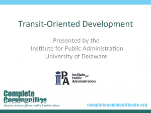 Transit-Oriented Development Title Slide