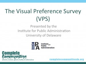 Title slide for Visual Preference Survey presentation