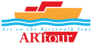 Logo for Art on the Riverwalk Tour