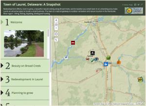 GIS Story Map of Laurel, Delaware