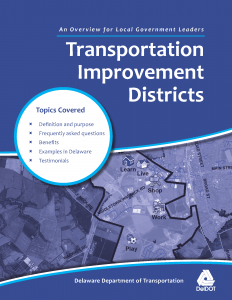 Cover of the Transportation Improvement Districts overview