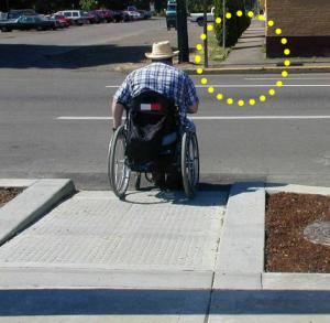 Pedestrian facilities for accessibility, Delaware