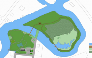 Master Plan for Mispillion Greenway's Goat Island Nature Trail
