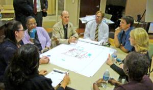 Public Charrette Process involving Dover stakeholders