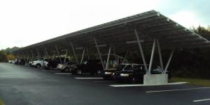 Carport-Mounted Solar Array