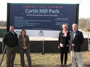 Curtis Mill Park Opening