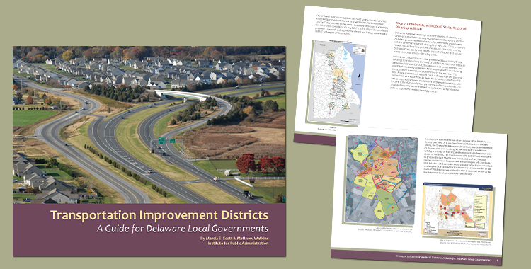 New transportation improvement districts guide for Delaware local governments
