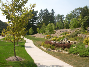 Larger Parks and Walking Trails