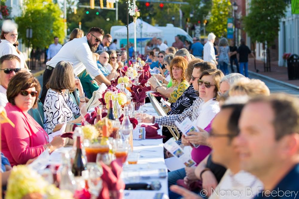 Milford's 2015 Eat in the Street Event