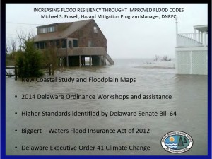 Image of DNREC Presentation on Improving Flood Codes