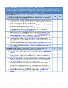 Flood-Ready Checklist