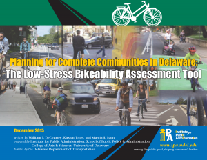 Cover of the Low-Stress Bikeability Assessment Tool