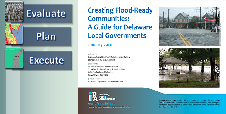 Three Steps Toward a Flood-Ready Community
