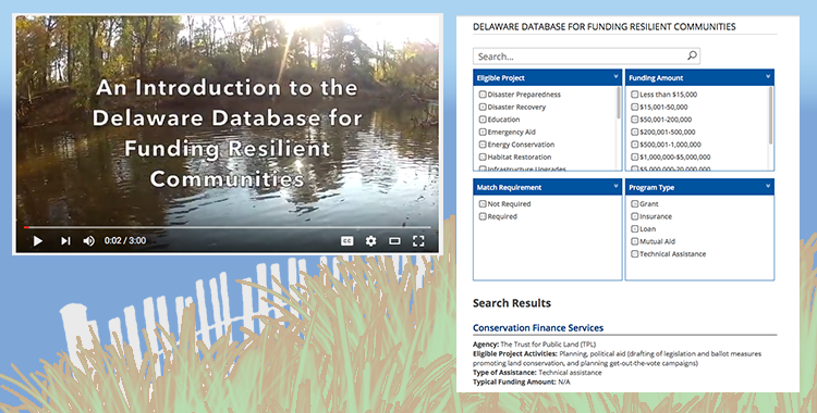 Searchable List of Funding Resources for Community Resiliency