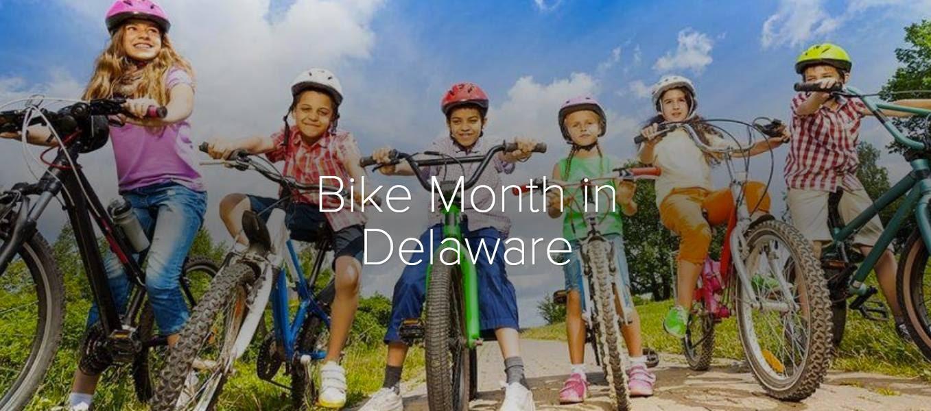 May is Bike Month in Delaware